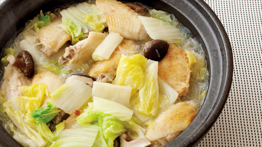 白菜と鶏手羽の塩鍋 レシピ マロンさん |【みんなのきょうの