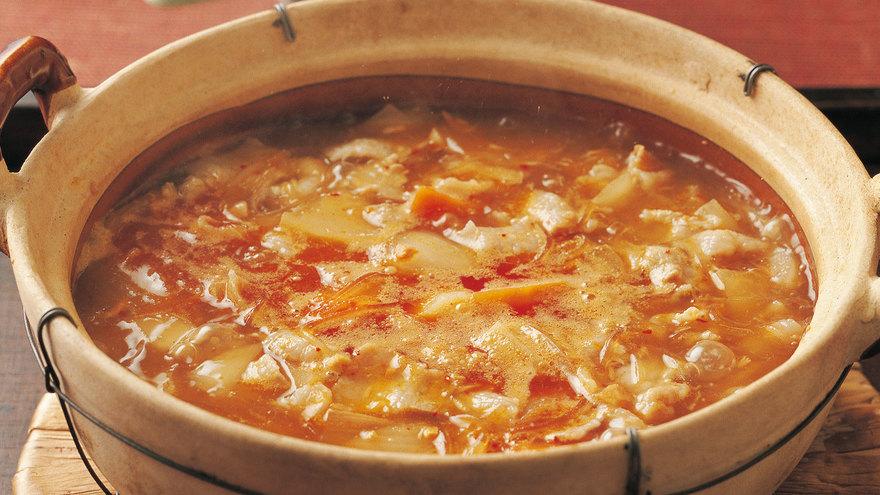 野菜の鮭(さけ)ジャン鍋 レシピ 吉田 勝彦さん|【みんなのきょうの料理】おいしいレシピや献立を探そう