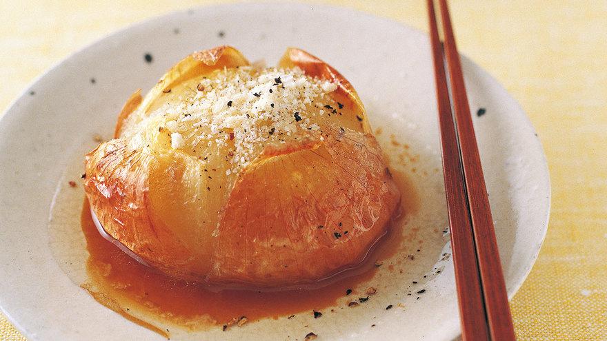 新たまねぎの丸ごとオーブン焼き レシピ 牧野 直子さん 【みんなのきょうの料理】おいしいレシピや献立を探そう