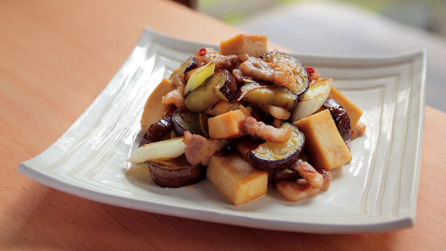 高野豆腐と豚バラのみそ炒め レシピ 杉本 節子さん|【みんなのきょうの料理】おいしいレシピや献立を探そう