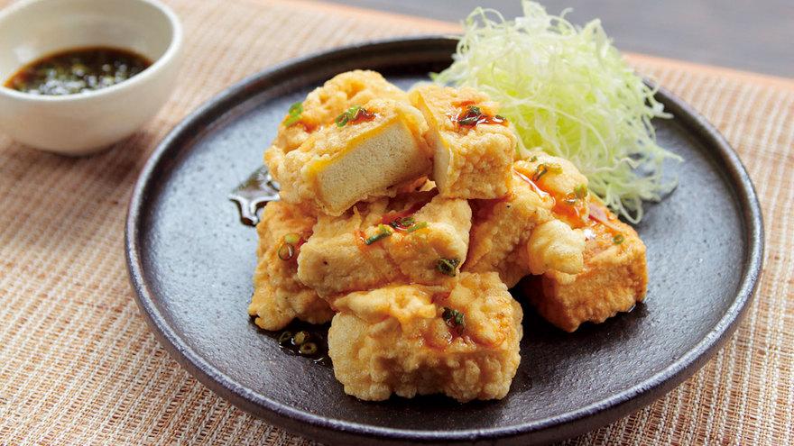 高野豆腐の衣揚げ レシピ 杉本 節子さん|【みんなのきょうの料理】おいしいレシピや献立を探そう