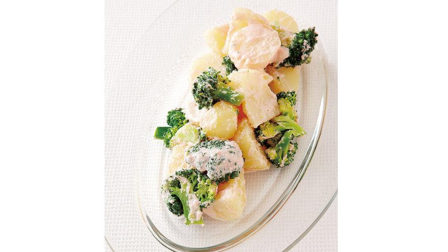 じゃがいもとブロッコリーのたらこあえ レシピ 舘野 鏡子さん 【みんなのきょうの料理】おいしいレシピや献立を探そう
