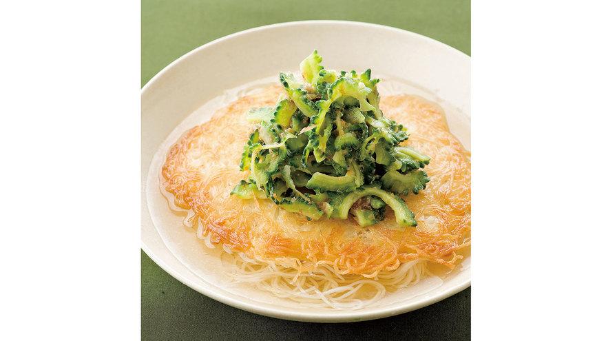 ゴーヤーと梅の焼きそうめん レシピ 藤田 貴子さん 【みんなのきょうの料理】おいしいレシピや献立を探そう