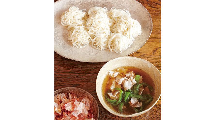 豚肉とピーマンのつけめん風 レシピ 渡辺 有子さん|【みんなのきょうの料理】おいしいレシピや献立を探そう