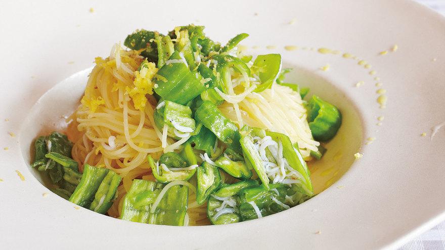 ししとうとレモンの冷たいパスタ レシピ 渡辺 有子さん|【みんなのきょうの料理】おいしいレシピや献立を探そう