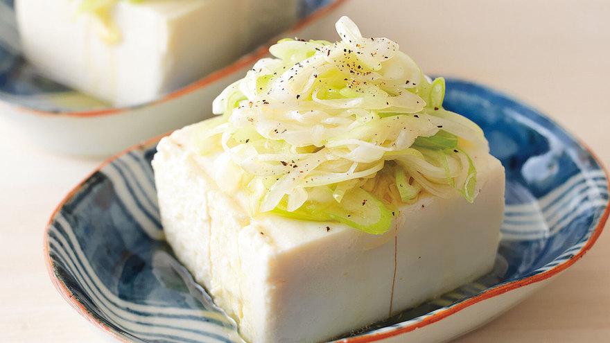 ねぎ塩やっこ レシピ 瀬尾 幸子さん 【みんなのきょうの料理】おいしいレシピや献立を探そう