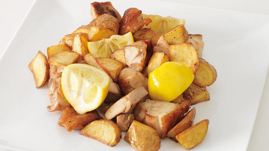 チキンとじゃがいものレモン風味 レシピ 谷 昇さん 【みんなのきょうの料理】おいしいレシピや献立を探そう
