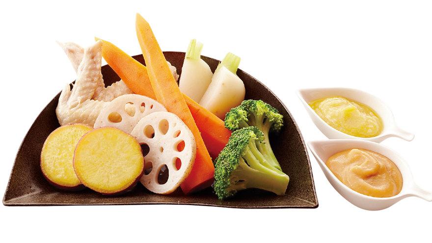 温野菜おいしい根(ね)! レシピ 平野 レミさん|【みんなのきょうの料理】おいしいレシピや献立を探そう