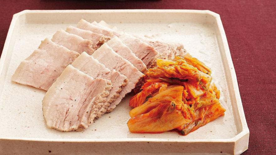 ゆで豚キムチ レシピ ジョン・キョンファさん 【みんなのきょうの料理】おいしいレシピや献立を探そう