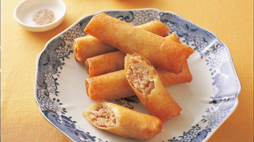 もやしとひき肉の春巻 レシピ 高城 順子さん|【みんなのきょうの料理】おいしいレシピや献立を探そう