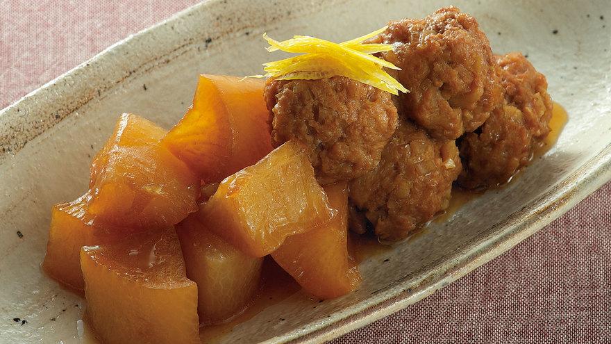 肉だんごと大根の煮物 レシピ 大原 千鶴さん|【みんなのきょうの料理】おいしいレシピや献立を探そう