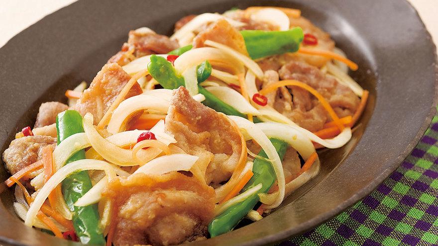 豚薄切り肉の南蛮漬け レシピ 渡辺 あきこさん|【みんなのきょうの料理】おいしいレシピや献立を探そう