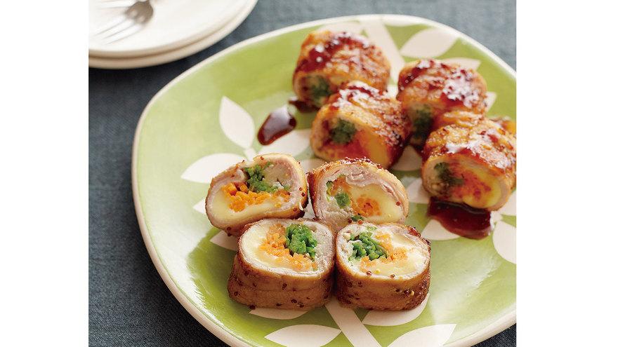 豚肉のチーズロール レシピ きじま りゅうたさん|【みんなのきょうの料理】おいしいレシピや献立を探そう