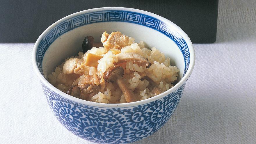 鶏ときのこの炊き込みご飯 レシピ 柳原 一成さん|【みんなのきょうの料理】おいしいレシピや献立を探そう