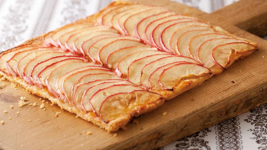 りんごの薄焼きパイ レシピ 伊藤 栄里子さん 【みんなのきょうの料理】おいしいレシピや献立を探そう