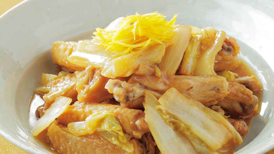 白菜と鶏手羽のとろり煮 レシピ 松本 忠子さん|【みんなのきょうの料理】おいしいレシピや献立を探そう
