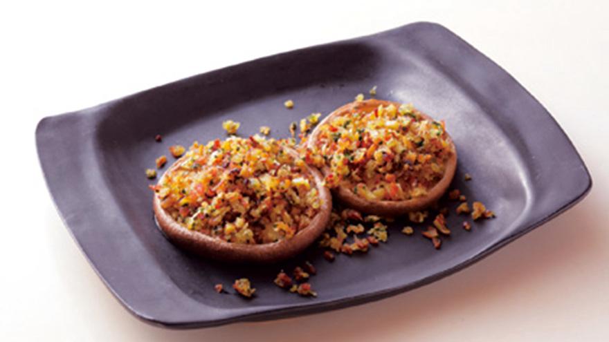 しいたけのパン粉焼き レシピ 山内 けい子さん 【みんなのきょうの料理】おいしいレシピや献立を探そう