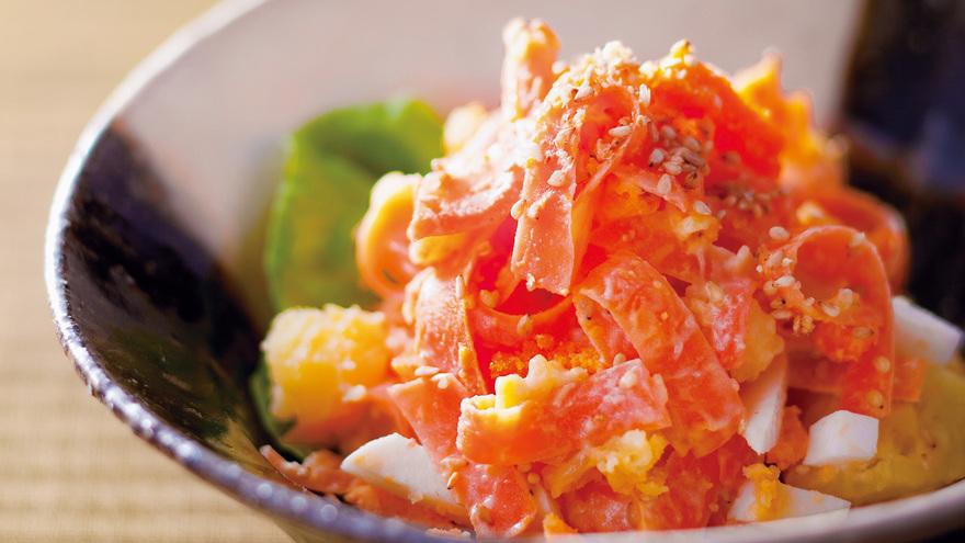 にんじんの白みそマヨあえ レシピ 杉本 節子さん|【みんなのきょうの料理】おいしいレシピや献立を探そう