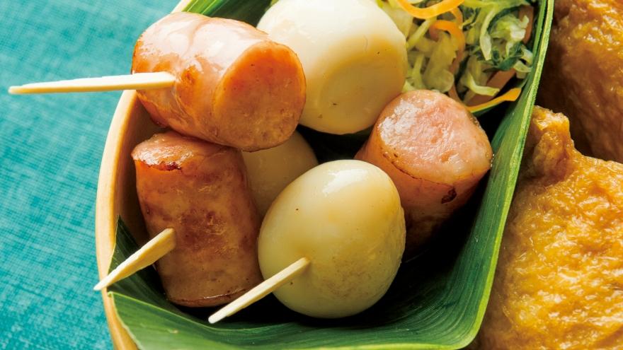 焼きソーセージうずら串 レシピ 飛田 和緒さん 【みんなのきょうの料理】おいしいレシピや献立を探そう