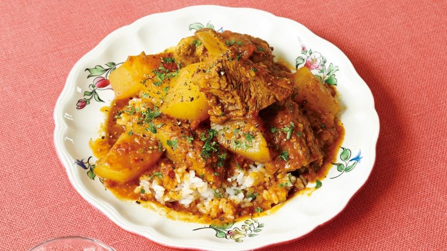 手割り大根とスペアリブのさらっと欧風カレー レシピ コウ ケンテツさん 【みんなのきょうの料理】おいしいレシピや献立を探そう