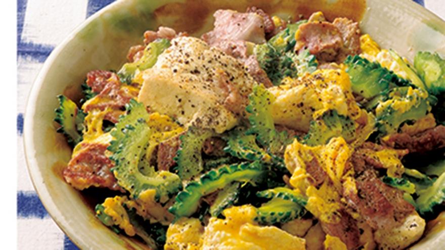ゴーヤーチャンプルー レシピ 土井 善晴さん|【みんなのきょうの料理】おいしいレシピや献立を探そう