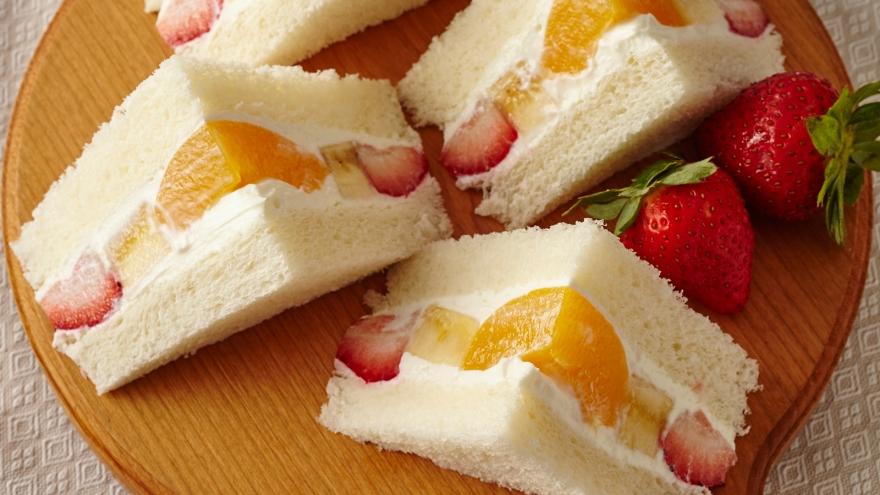 ヨーグルトクリームのフルーツサンド レシピ 井澤 由美子さん|【みんなのきょうの料理】おいしいレシピや献立を探そう