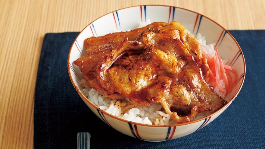 豚丼 レシピ 渡辺 あきこさん |【みんなのきょうの料理