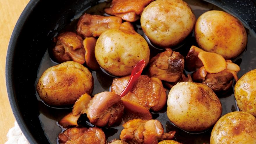 新じゃがいものピリ辛煮 レシピ 大庭 英子さん 【みんなのきょうの料理】おいしいレシピや献立を探そう