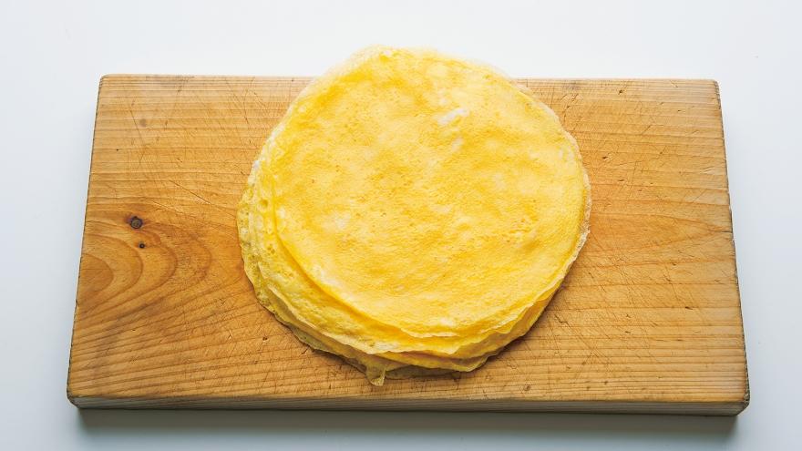 薄焼き卵 レシピ 飛田 和緒さん...
