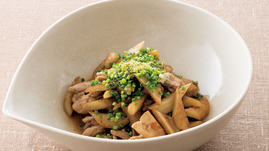 ごぼうと鶏肉のいり煮 レシピ 松田 美智子さん|【みんなのきょうの料理】おいしいレシピや献立を探そう