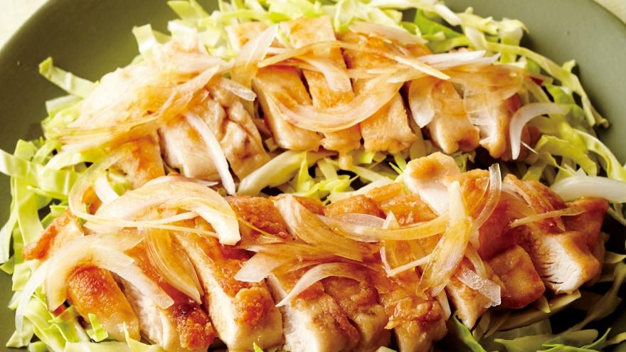 鶏むね肉のソテー 油淋鶏(ユーリンチー)風