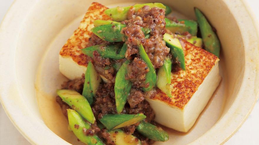 豆腐ステーキ 肉みそだれ レシピ 高橋 拓児さん|【みんなのきょうの料理】おいしいレシピや献立を探そう