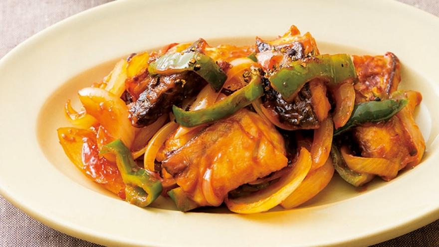 さばのケチャップ炒め レシピ 大原 千鶴さん 【みんなのきょうの料理】おいしいレシピや献立を探そう