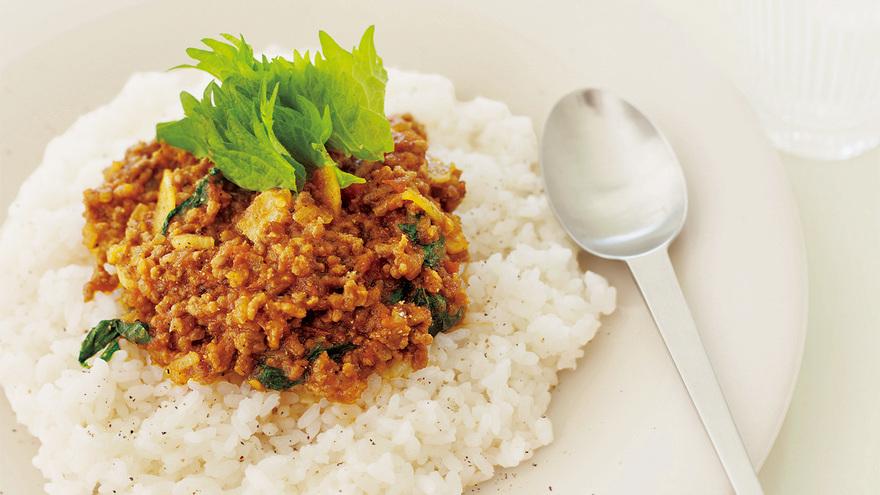 トマトとひき肉のアジアンライス レシピ マロンさん 【みんなのきょうの料理】おいしいレシピや献立を探そう