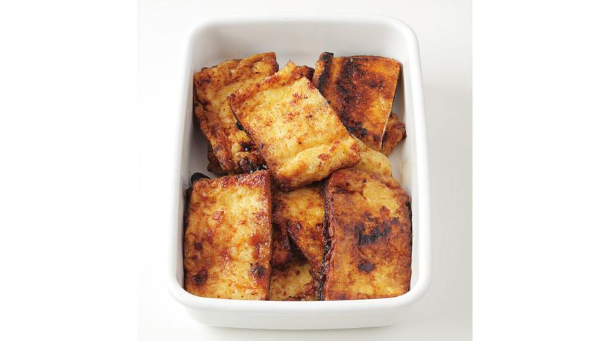 油揚げのみそ炒め レシピ 福山 秀子さん|【みんなのきょうの料理】おいしいレシピや献立を探そう