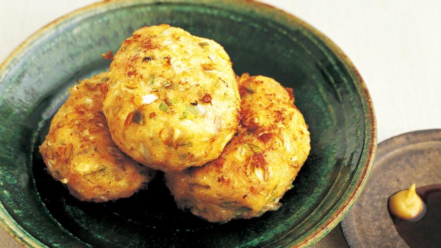 キャベツと豆腐のフワフワ揚げ レシピ 河野 雅子さん 【みんなのきょうの料理】おいしいレシピや献立を探そう