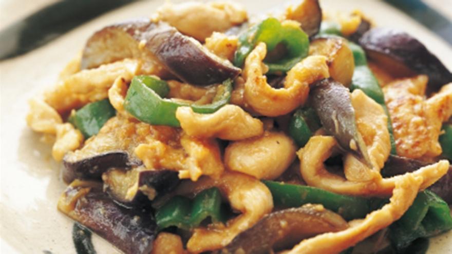 鶏肉となすのスタミナ炒め レシピ 堀江 ひろ子さん|【みんなのきょうの料理】おいしいレシピや献立を探そう