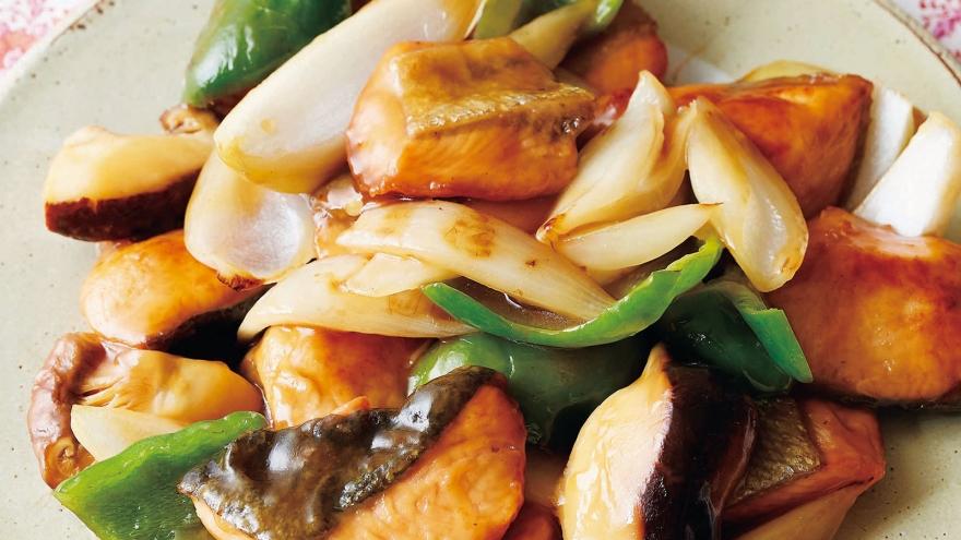 さけの甘酢炒め レシピ 野口 真紀さん|【みんなのきょうの料理】おいしいレシピや献立を探そう