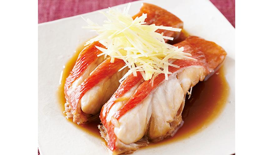 きんめだいの煮つけ レシピ 小田 真規子さん|【みんなのきょうの料理】おいしいレシピや献立を探そう