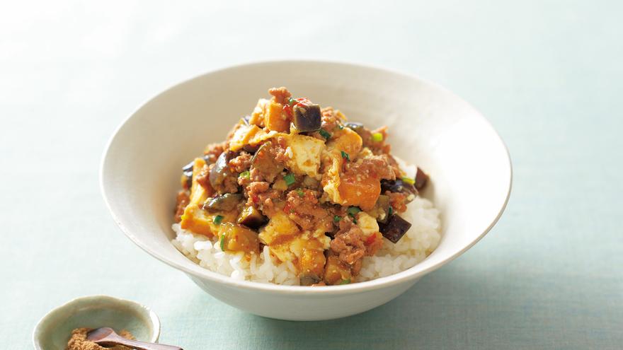厚揚げマーボー丼 レシピ SHIORIさん|【みんなのきょうの料理】おいしいレシピや献立を探そう