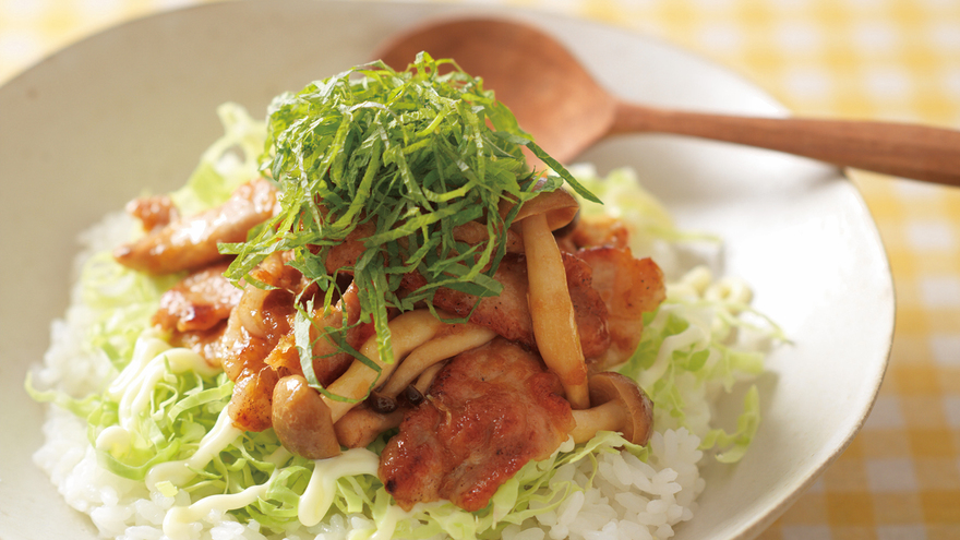 しょうが焼き丼 レシピ SHIORIさん|【みんなのきょうの料理】おいしいレシピや献立を探そう