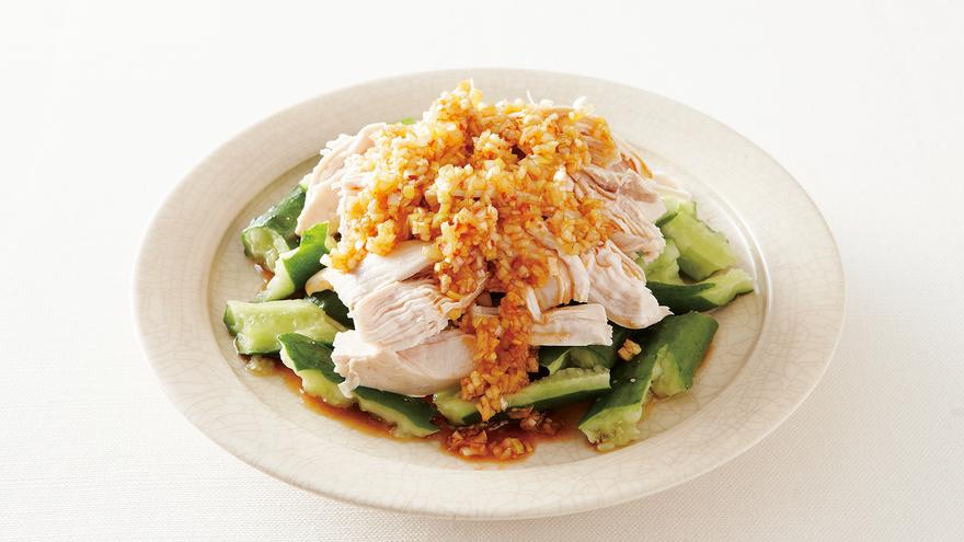 蒸し鶏のねぎソースがけ レシピ 大庭 英子さん 【みんなのきょうの料理】おいしいレシピや献立を探そう