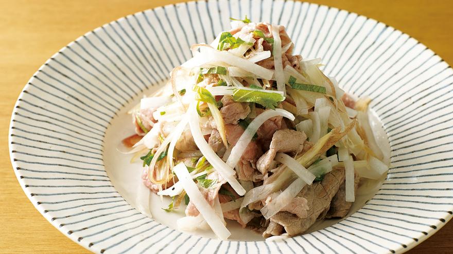 牛しゃぶサラダ レシピ 大庭 英子さん|【みんなのきょうの料理】おいしいレシピや献立を探そう