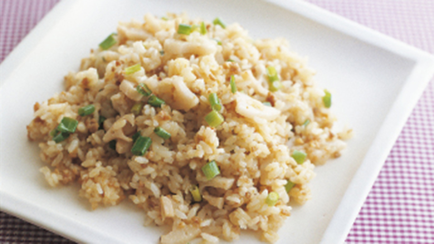 鶏ひき肉とれんこんのみそチャーハン レシピ 高城 順子さん|【みんなのきょうの料理】おいしいレシピや献立を探そう