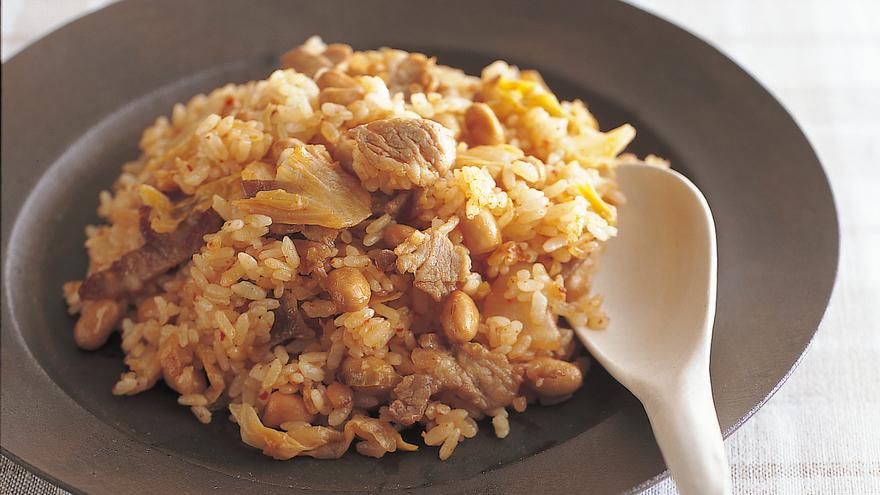納豆キムチチャーハン レシピ 高城 順子さん|【みんなのきょうの料理】おいしいレシピや献立を探そう