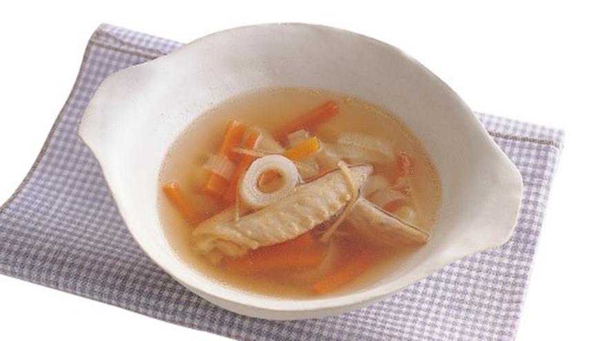 手羽先の先端と野菜のスープ レシピ 高城 順子さん|【みんなのきょうの料理】おいしいレシピや献立を探そう