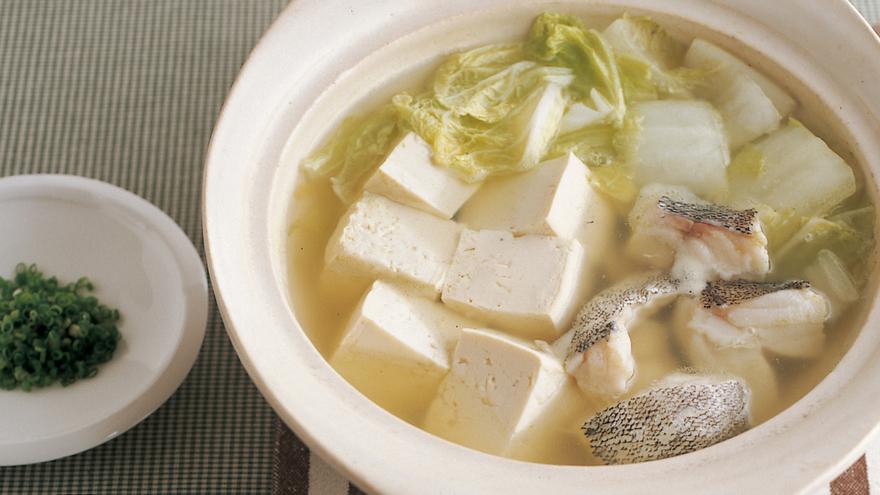 たら、白菜入り湯豆腐 レシピ 高城 順子さん |【みんなのきょう