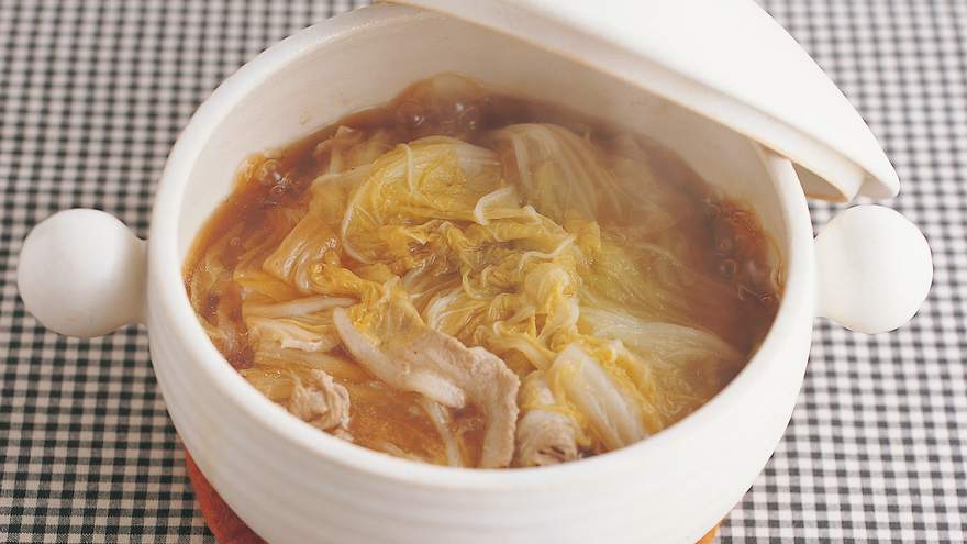 豚肉と白菜の重ね煮鍋 レシピ 高城 順子さん|【みんなのきょうの料理】おいしいレシピや献立を探そう