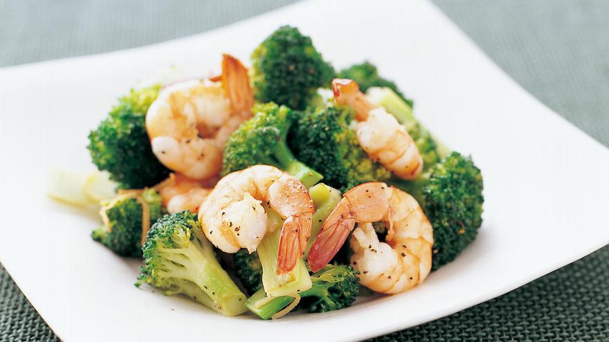 えびとブロッコリーの塩炒め レシピ 高城 順子さん|【みんなのきょうの料理】おいしいレシピや献立を探そう