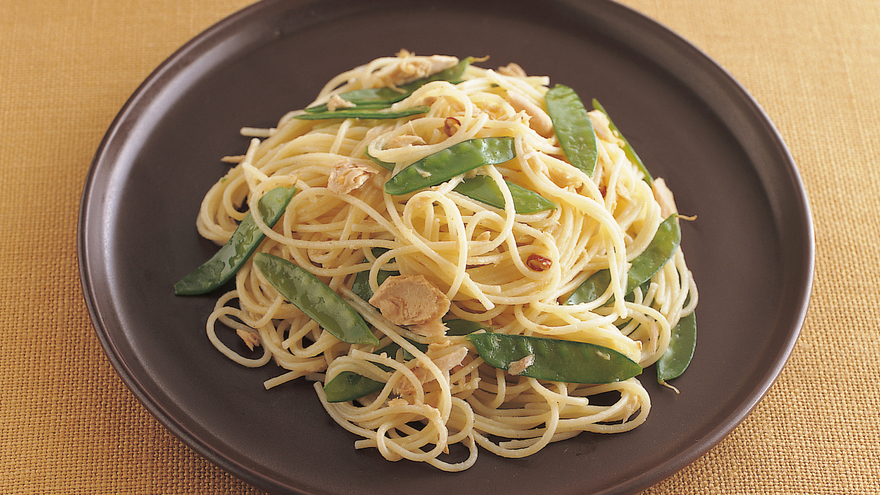 絹さやとツナのパスタ レシピ 高城 順子さん|【みんなのきょうの料理】おいしいレシピや献立を探そう